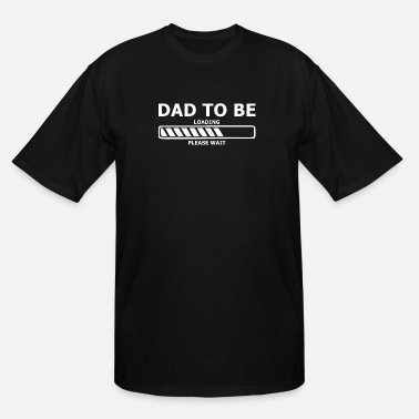 Expecting Pregnancy - Mens Dad To Be Expecting Dad Gift Pr - Men's Tall T-Shirt
