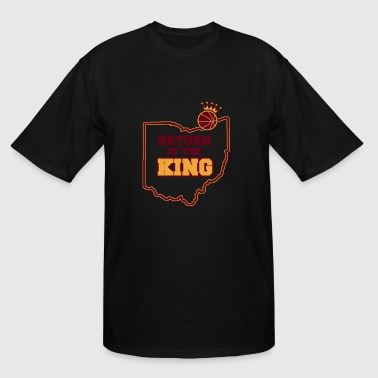 Volleyball - RETURN OF THE KING - Men's Tall T-Shirt
