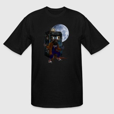 Full Moon Werewolf Werewolf at The Full moon T-shirt - Men's Tall T-Shirt