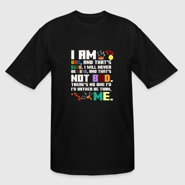 Wreck It Ralph - I am bad and that's good - Men's Tall T-Shirt
