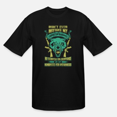 Headhunterz Hunter - Don't mistake my silence for ignorance - Men's Tall T-Shirt