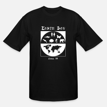 Earth Day Earth Day - Earth Day 3 - Men's Tall T-Shirt