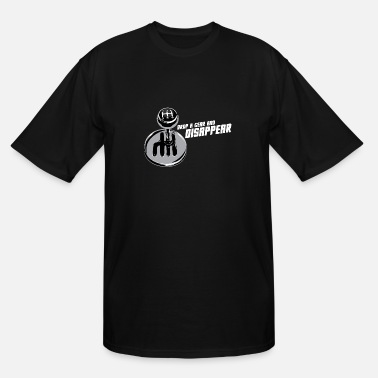 Gear drop a gear and disappear - transmission - car - Men's Tall T-Shirt