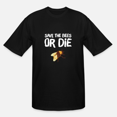 Lapsi Bee - Save the Bees Or die - Men's Tall T-Shirt