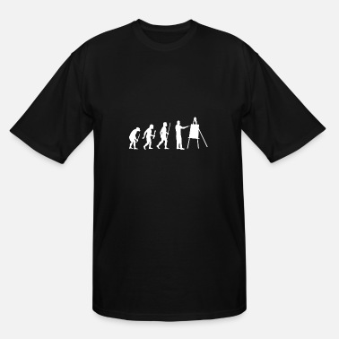 Asian Painting Painting - Painting Evolution - Men's Tall T-Shirt