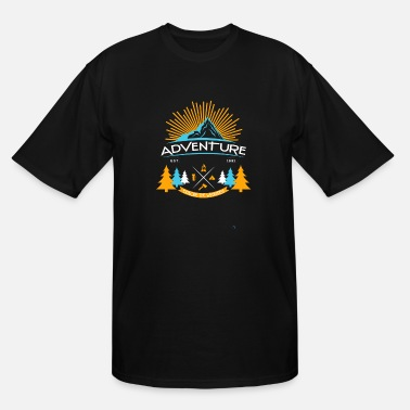 Motorcycle Adventure Adventure - Adventure - Men's Tall T-Shirt