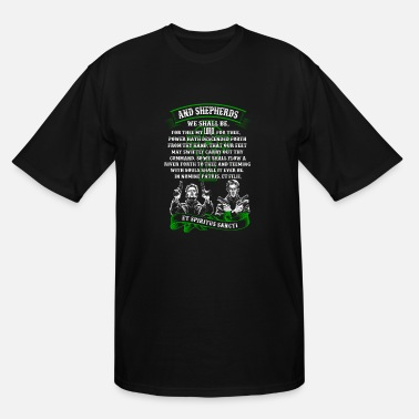 Boondocks The Boondock Saints - And Shepherds we shall be - Men's Tall T-Shirt