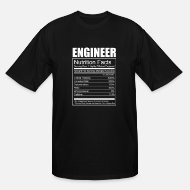 Mechatronic Engineer - Engineer - Funny Engineer Nutrition - Men's Tall T-Shirt