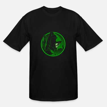 Green Arrow Oliver Queen Green arrow - Green arrown awesome tee for fans - Men's Tall T-Shirt