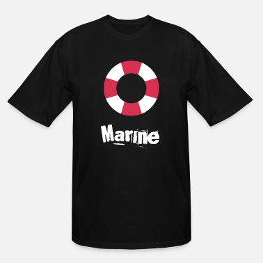 Marine Marine - Men's Tall T-Shirt