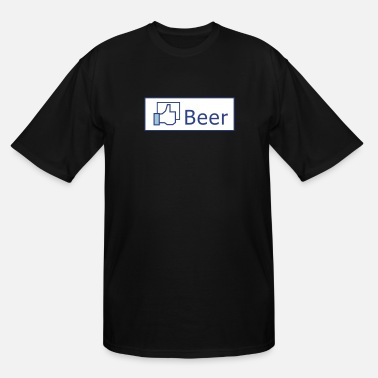Facebook Like Beer Like Beer - Men's Tall T-Shirt