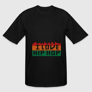 I LOVE HIP HOP - Men's Tall T-Shirt