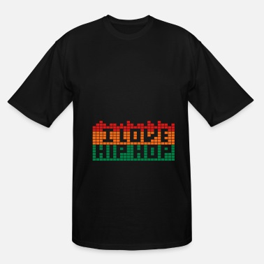 Customize Your Own Of Hip Hop I LOVE HIP HOP - Men's Tall T-Shirt