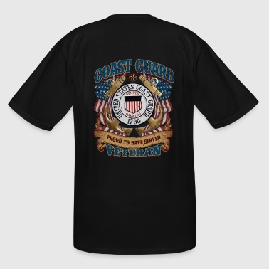 US COAST GUARD PROUD TO HAVE SERVED VETERAN - Men's Tall T-Shirt