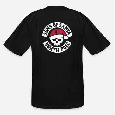 Mc Wear Sons of Santa - North Pole - Biker MC Motor Club - Men's Tall T-Shirt