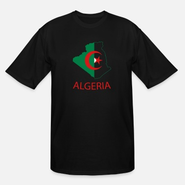 Algeria algeria - Men's Tall T-Shirt