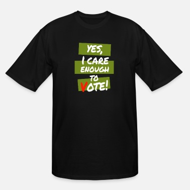 Care Yes I Care - Men's Tall T-Shirt