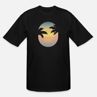Scene Summer Feelings Beach Vacation Gift Idea - Men's Tall T-Shirt