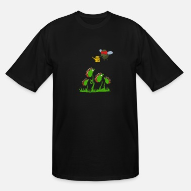 Venus Flytrap plant eating poison weed - Men's Tall T-Shirt
