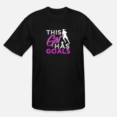 Womens Soccer This Girl Has Goals - Men's Tall T-Shirt