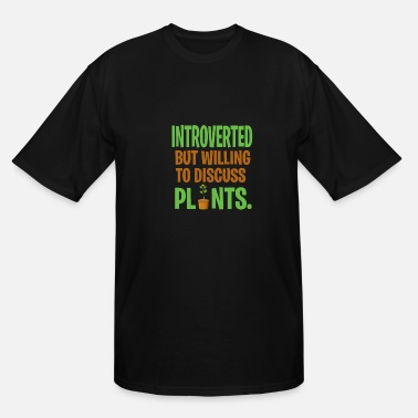 Cynical Introverted loner Sarcastic gift - Men's Tall T-Shirt