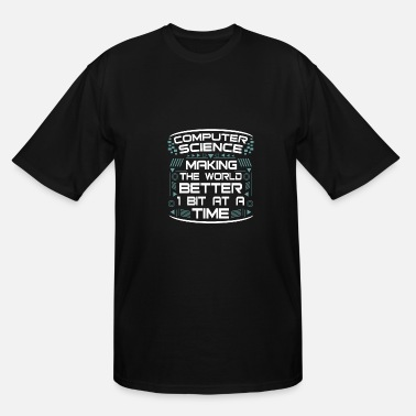 Computer Science computer science computer scientiest - Men's Tall T-Shirt