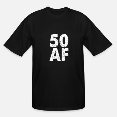 Years Old 50. Birthday - Men's Tall T-Shirt
