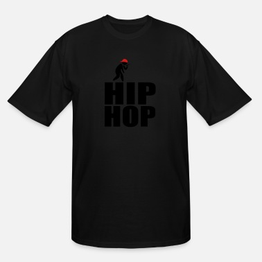 Hop hip hop - Men's Tall T-Shirt