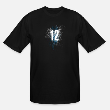 Number Number 12 - Men's Tall T-Shirt
