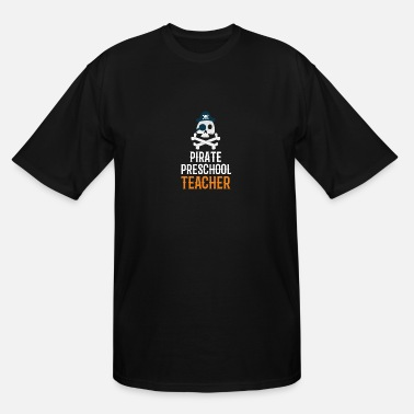 Science Pirate Preschool Teacher - Men's Tall T-Shirt