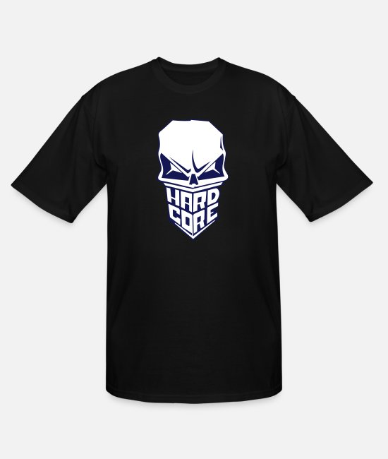 Heavy T-Shirts - Hardcore - Men's Tall T-Shirt black