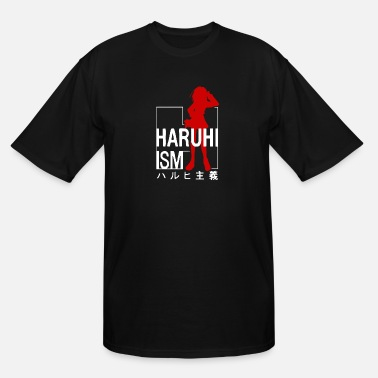 Melancholy Melancholy Of Haruhi Suzamiya - Men's Tall T-Shirt