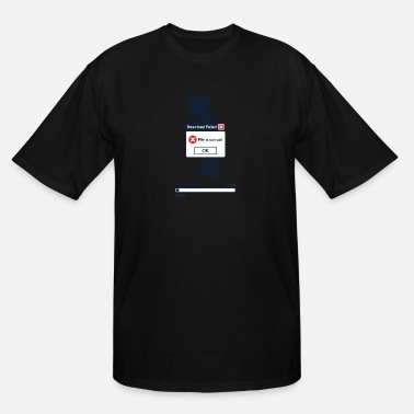 Corrupt Corrupt File - Men's Tall T-Shirt