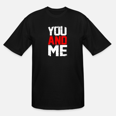 Retro You and me - Men's Tall T-Shirt