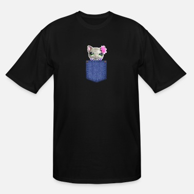 Mylpspetworld Shirt - Jess Pocket Mascot - Men's Tall T-Shirt