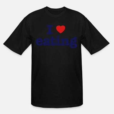 Boy I LOVE EATING - Men's Tall T-Shirt