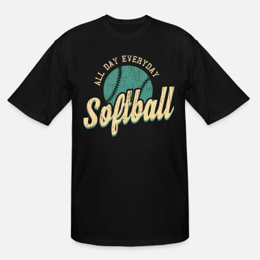 Softball softball - Men's Tall T-Shirt