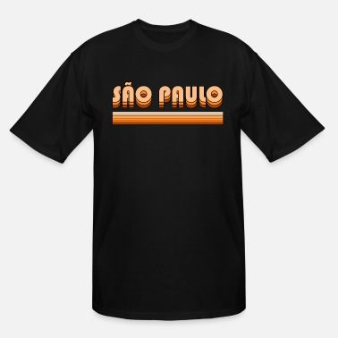 Geographic Sao Paulo retro - Men's Tall T-Shirt