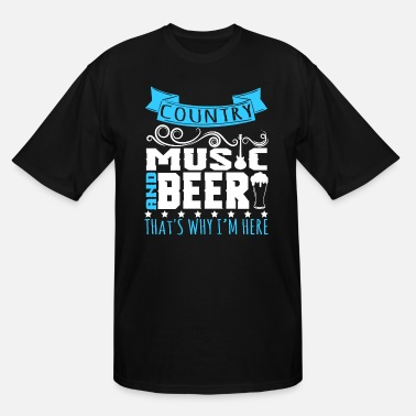 Country Sayings A Music Tee For Country Boys Mas Saying Country - Men's Tall T-Shirt
