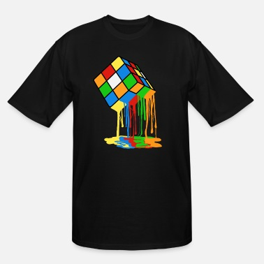 Cube Love Brick games? Fan of Rubrik's Cube? Found the - Men's Tall T-Shirt