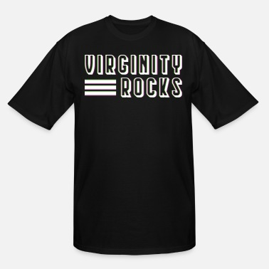 Rnb Great Shirt For Every Female Virginity Rocks - Men's Tall T-Shirt