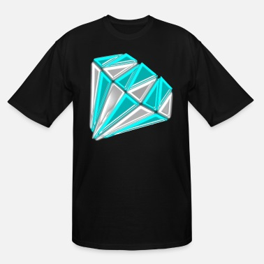 Glamour diamond glamour - Men's Tall T-Shirt