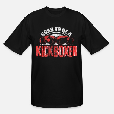 Feet Kickboxing sports fighter Gift - Men's Tall T-Shirt