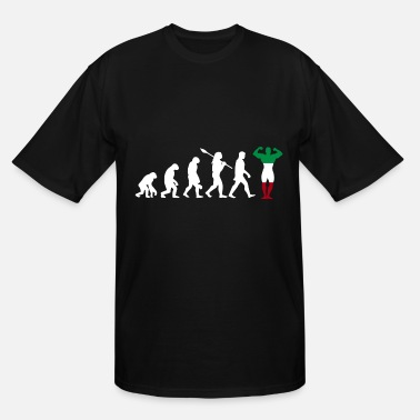 Italy Italy country gift evolution fitness - Men's Tall T-Shirt