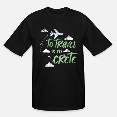 Crete Crete - Men's Tall T-Shirt