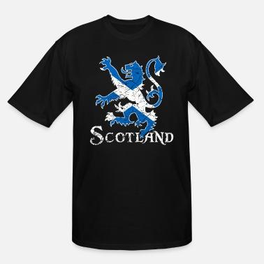 Scotland Flag T-SHIRT Scottish Scots Sport Football Soccer birthday fashion gift