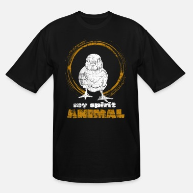 Spirit Chicken Spirit animal - Men's Tall T-Shirt