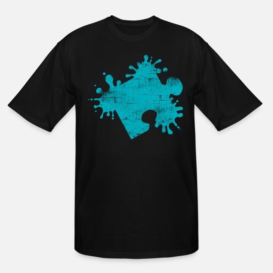 Puzzle T-Shirts - Puzzle - Men's Tall T-Shirt black