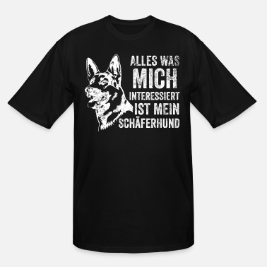 German Shepherd German Shepherd Dog Pet Dog Gift - Men's Tall T-Shirt