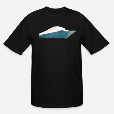 Holidaymaker Polygon ship - Men's Tall T-Shirt